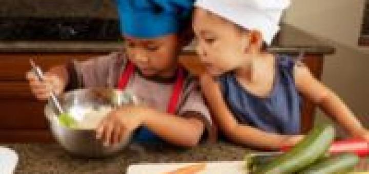 Children-cooking