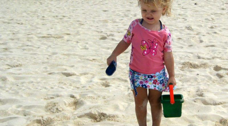 Tea Bags on my Legs   Need for Suncreen for children