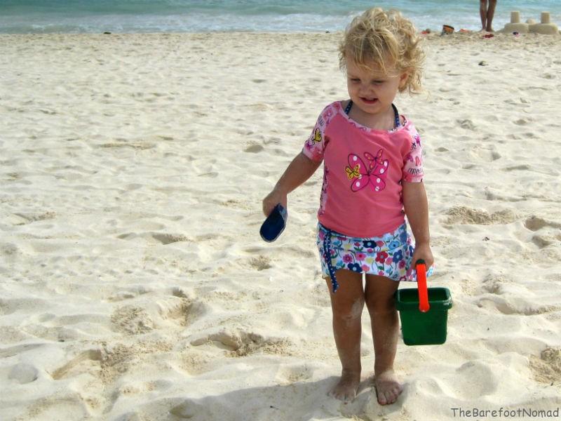 Tea Bags on my Legs | Need for Suncreen for children